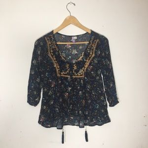 Peasant top xtra small